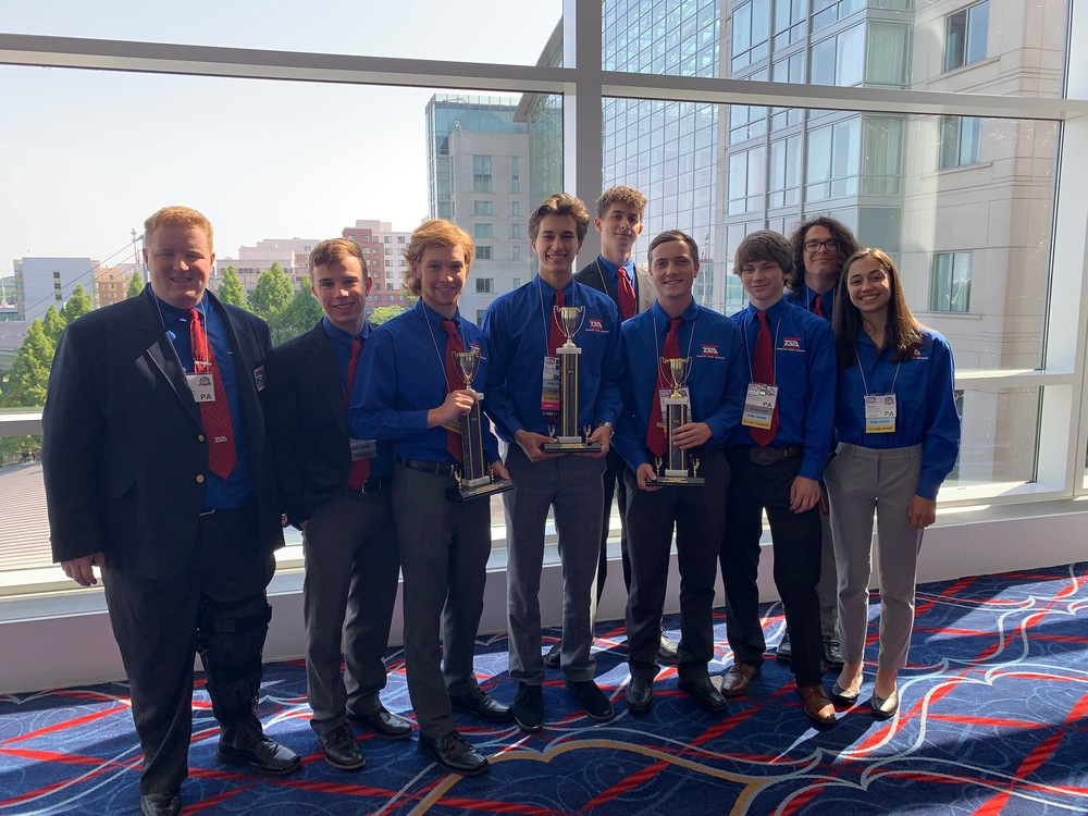 BHS TSA Team National Champions
