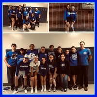 "Spirit Week ""Blue and White Day"""