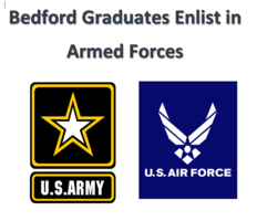 Bedford Graduates Enlist in Armed Forces